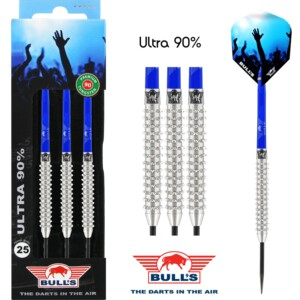 Bulls Ultra 90 tungsten darts Total